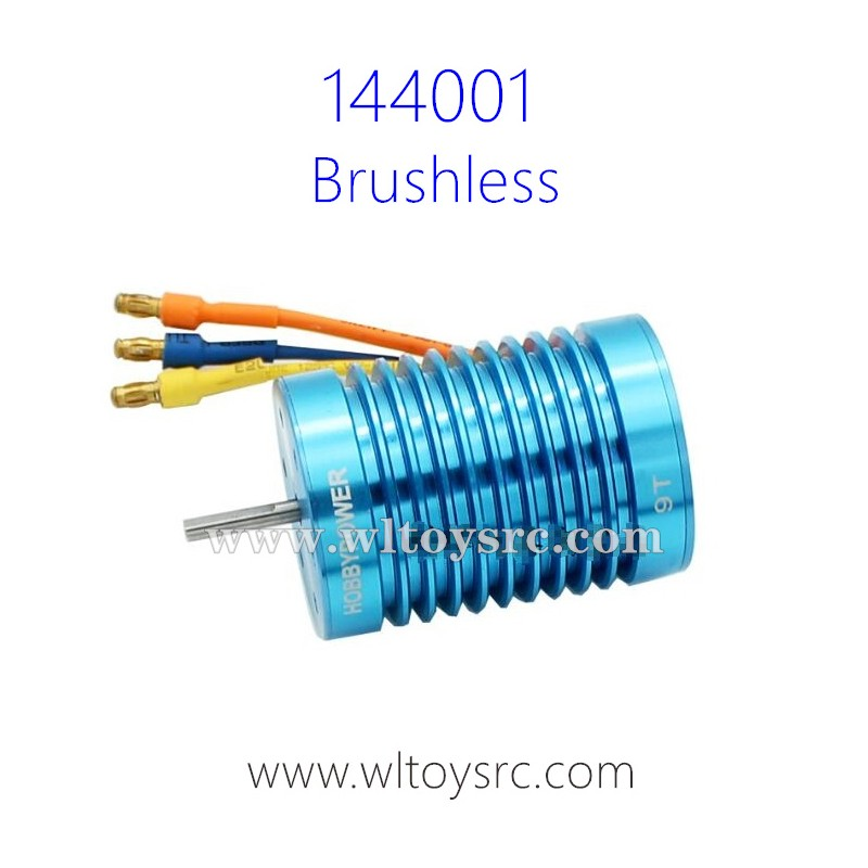 WLTOYS XK 144001 Brushless Motor Upgrade