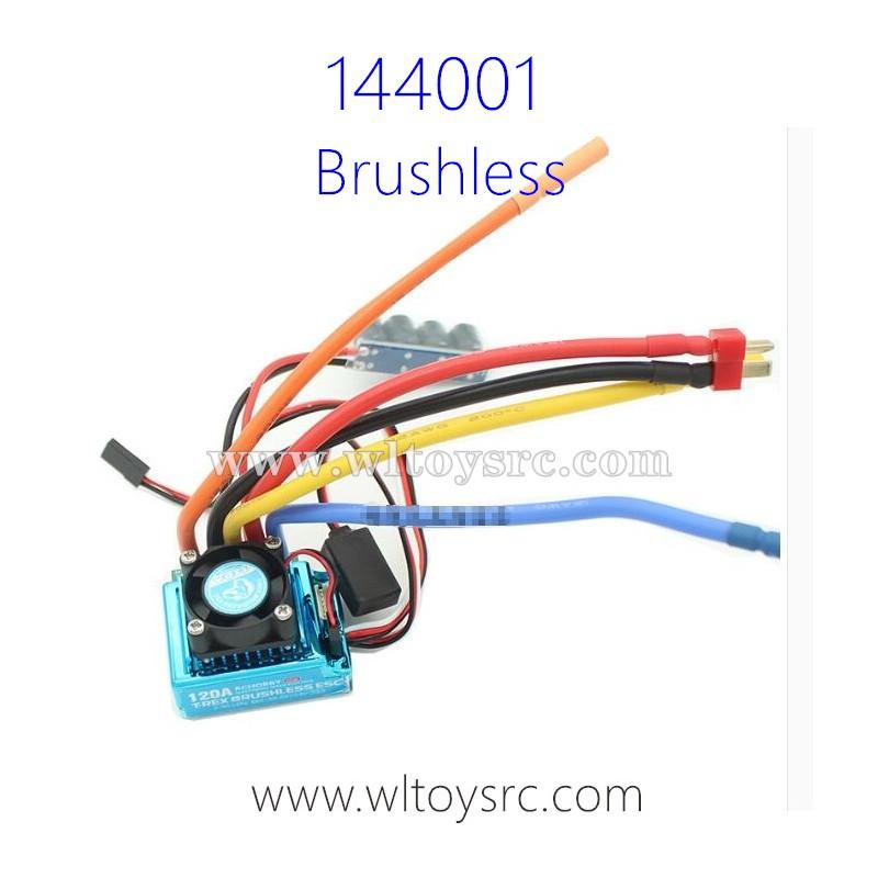 WLTOYS XK 144001 Brushless 120A ESC