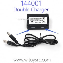 WLTOYS XK 144001 Upgrade Parts Double Charger