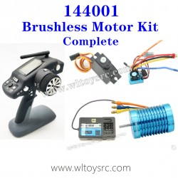 WLTOYS XK 144001 Brushless Motor with Transmitter Complete kit