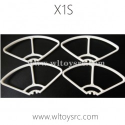 WLTOYS XK X1S 4K 5G RC Drone Parts-Propellers Guards