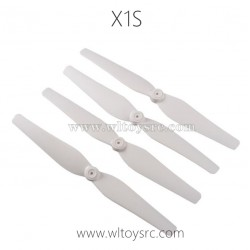 WLTOYS XK X1S 4K RC Drone Parts-Propellers White