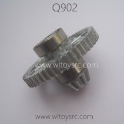 XINLEHONG Q902 1/16 Parts-Big Gear Bevel Gear and Bearing