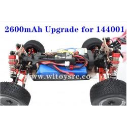 WLTOYS 144001 Upgrade Battery 2600mAh