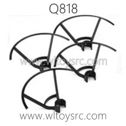 WLTOYS Q818 Drone Parts, Propellers Guards