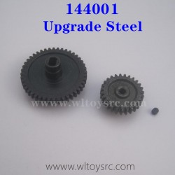WLTOYS 144001 Upgrade Metal Parts Steel Spur Gear and Motor Gear