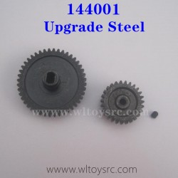 WLTOYS XK 144001 Metal Kit Steel Spur Gear and Motor Gear Upgrade Parts