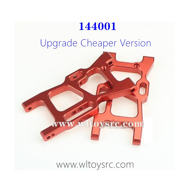 WLTOYS XK 144001 Upgrade Metal Parts-1250 Front Swing Arm Red