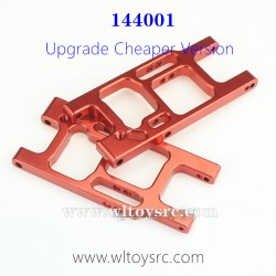 WLTOYS XK 144001 Upgrade Parts-1250 Rear Swing Arm Red