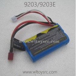 PXTOYS 9203 9203E RC Truck Parts, Battery 7.4V 1500mAh Original