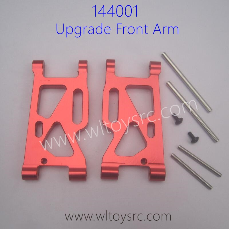 WLTOYS 144001 Upgrade Parts Front Swing Arm Aluminum Alloy