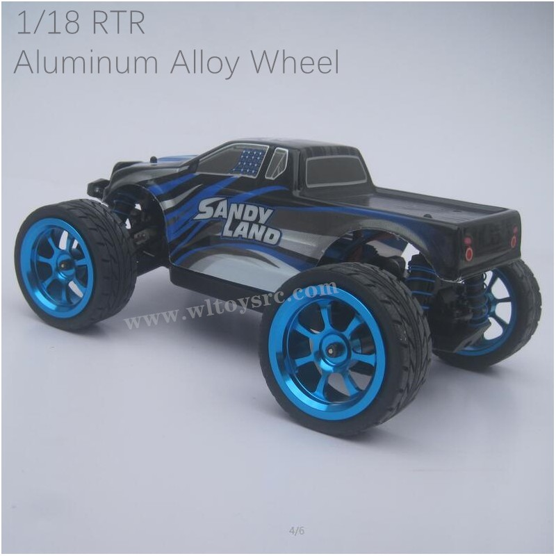 PXTOYS SANDY LAND RC Truck 9300 With Upgrade Wheels RTR 1/18