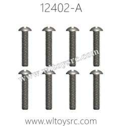 WLTOYS 12402-A Parts-3X12PM D5 Round cross head