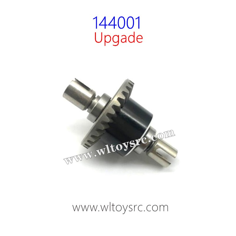 WLTOYS 144001 RC Buggy Upgrade Differential Gear Complete Assembly