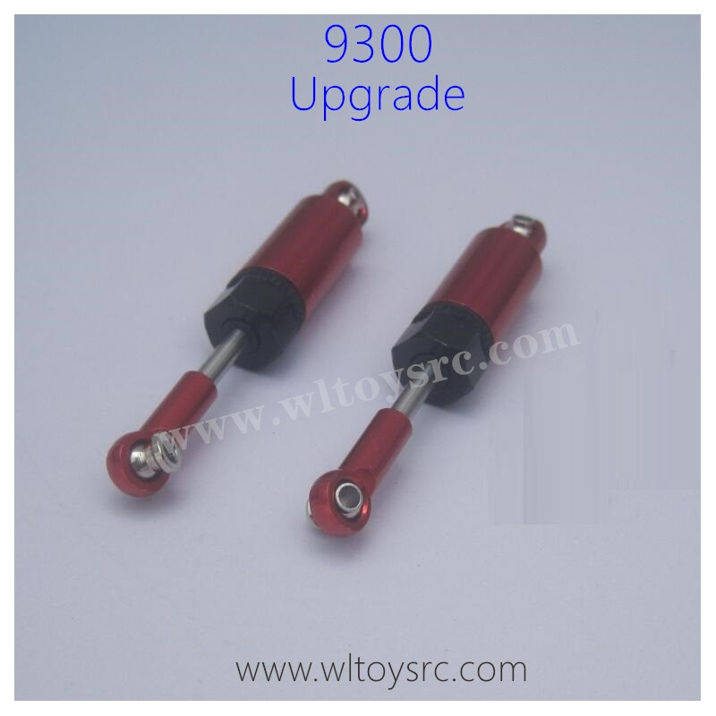 PXTOYS 9300 Sandy Land Upgrade Parts-Shock Absorbers Metal Red