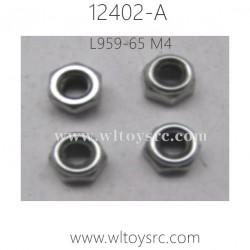 WLTOYS 12402-A RC Truck Parts-M4 Locknut L959-65