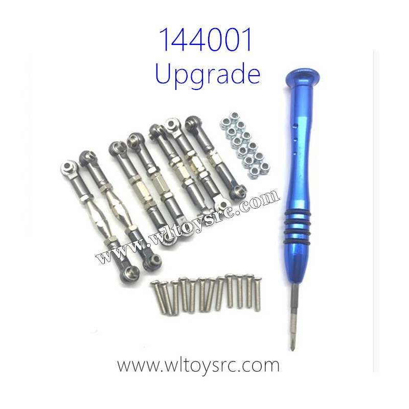 WLTOYS 144001 Upgrade Parts, Connect Rods Metal