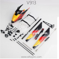 WLTOYS V913 Parts, Propellers Head cover