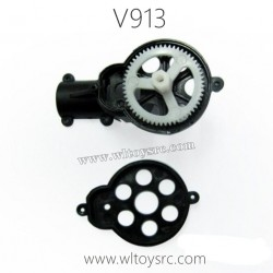 WLTOYS V913 Helicopter Parts, Tail Motor Gear with holder