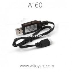 WL-TECH XK A160-J3 Parts, USB Charger