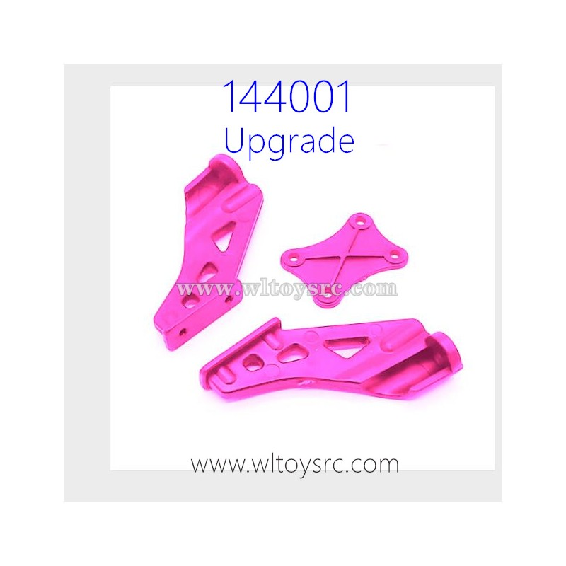 WLTOYS 144001 1/14 RC Car Upgrade Parts Tail Bumper Support Kit