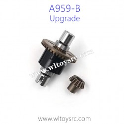 WLTOYS A959B Upgrade Parts, Metal Differential Gear Assembly with Bevel Gear