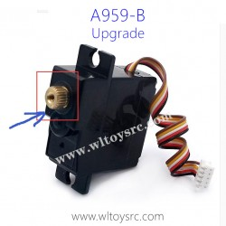 WLTOYS A959B 1/18 Racing Car Upgrade Parts, Servo with Metal Gear