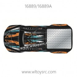 HBX16889 Parts, Car Shell