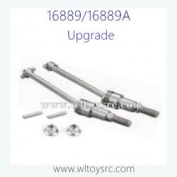 HBX16889 Upgrade Parts, Metal Front Drive Shaft Set