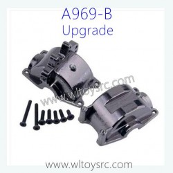 WLTOYS A969B 1/18 Racing Car Upgrade Parts, Metal Gearbox