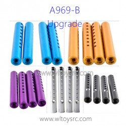WLTOYS A969B 1/18 Upgrade Parts, Car pillar Aluminum Alloy