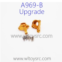 WLTOYS A969B RC Car Upgrade Parts, Steering C-Cups Golden