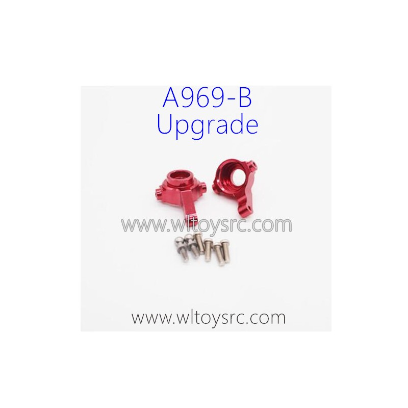 WLTOYS A969B RC Car Upgrade Parts, Steering C-Cups Red