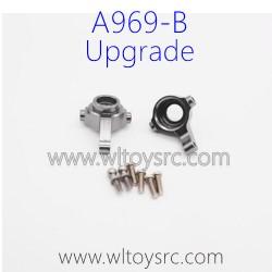 WLTOYS A969B RC Car Upgrade Parts, Steering C-Cups Titanium