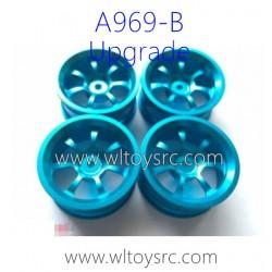 WLTOYS A969B RC Car Upgrade Parts, Wheels Aluminum Alloy