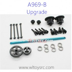 WLTOYS A969B Upgrade Parts, Metal Spur Gear, Bone Dog and Central Shaft