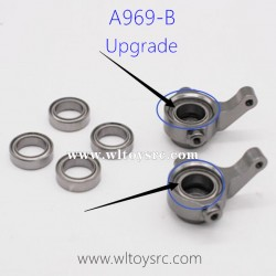 WLTOYS A969B Upgrade Parts, Front Wheel Seat Bearing 8x12x3.5