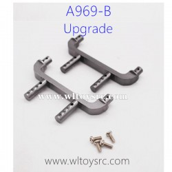 WLTOYS A969B Upgrade Parts, Car Shell Support Post Metal Titanium