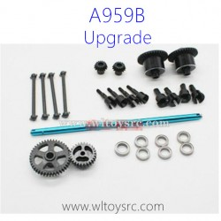 WLTOYS A959B RC Car Upgrade Parts, Metal Gear and Metal Differential Gear