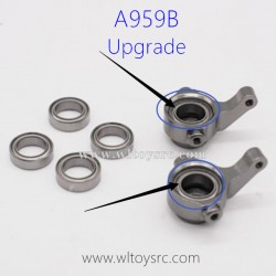 WLTOYS A959B RC Car Upgrade Parts, Front Wheel Seat Bearing 8x12x3.5
