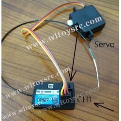 wltoys 144001 brushless Servo connect plug