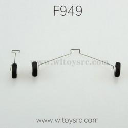 WLTOYS F949 RC Airplane Parts Landing-Skid 005