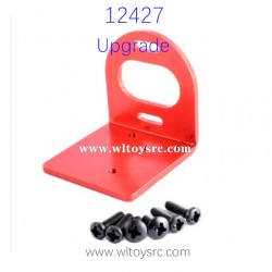 WLTOYS 12427 RC Car Upgrade Parts Motor Holder Red