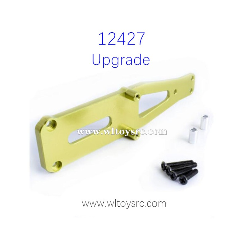 WLTOYS 12427 RC Car Upgrade Parts Front Shock Board Green