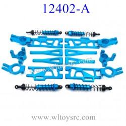WLTOYS 12402-A D7 Upgrade Shock and Metal Parts set