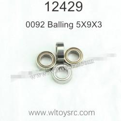 WLTOYS 12429 1/12 RC Car Parts, Balling 0092