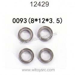 WLTOYS 12429 1/12 RC Car Parts, Bearing 0093