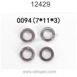 WLTOYS 12429 1/12 RC Car Parts, Bearing 0094