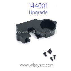 WLTOYS 144001 Upgrade Parts Cover for Big Gear Black