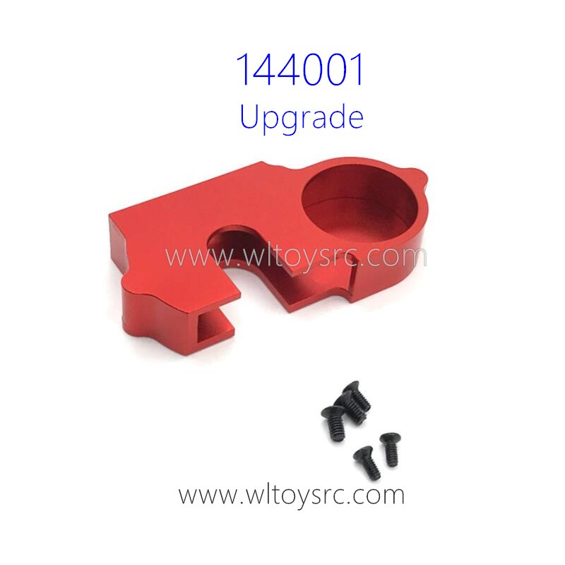 WLTOYS 144001 Upgrade Parts Cover for Big Gear Red